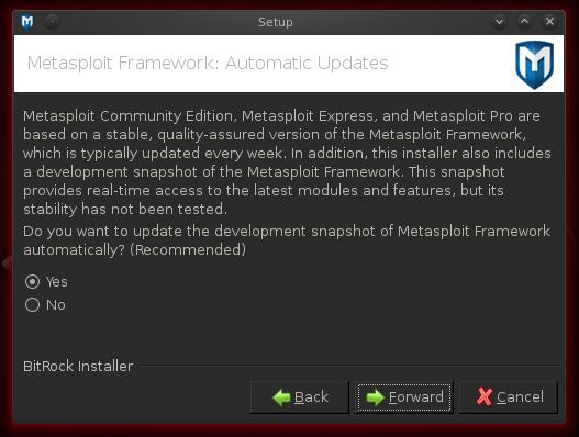 Metasploit Community Edition - Instalation [Artigo]