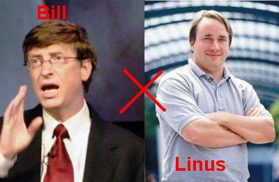 Linux: Linus Benedict Torvalds!
