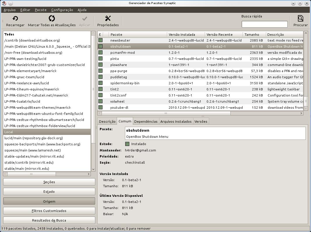 Openbox Taskbar