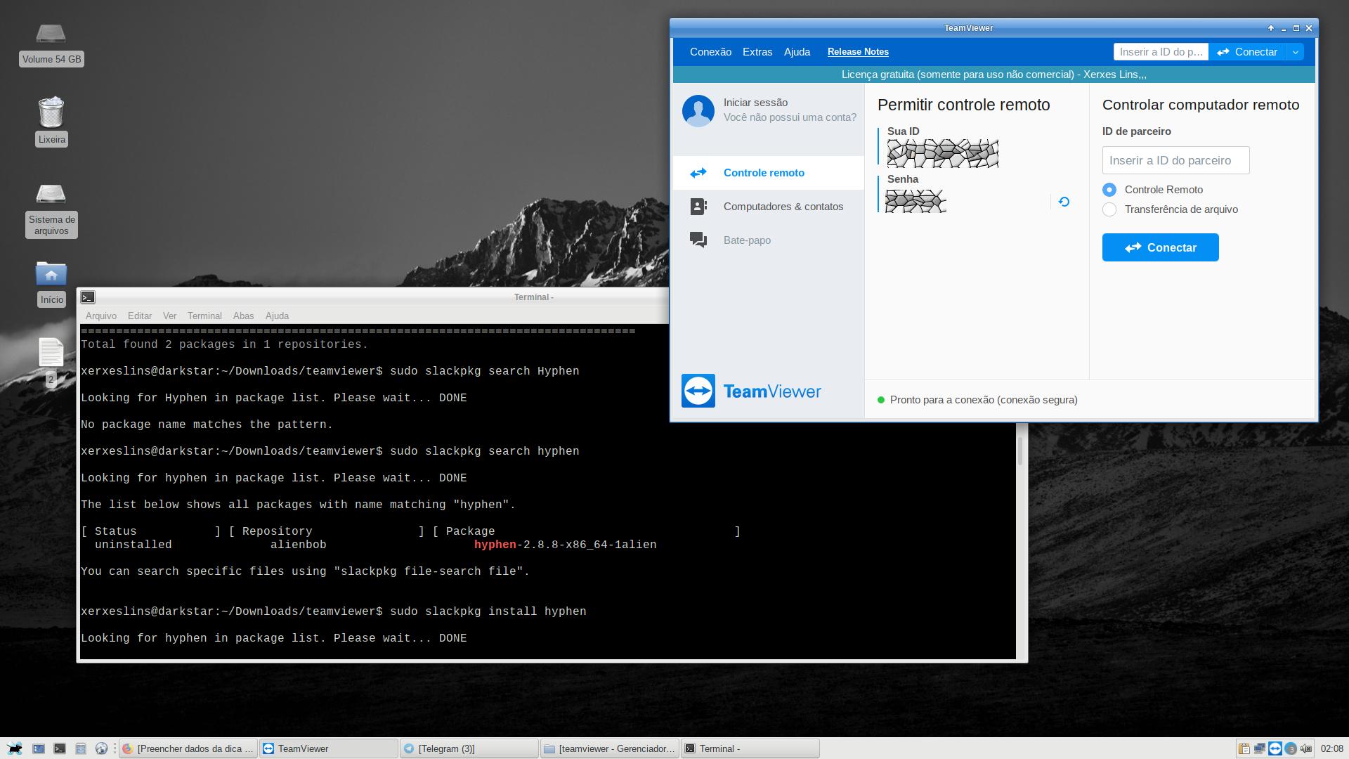 Teamviewer não abre no Slackware [Resolvido] [Dica]
