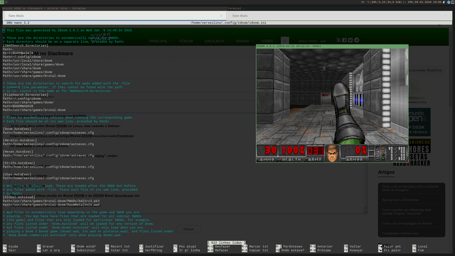Brutal DOOM no Slackware [Dica]