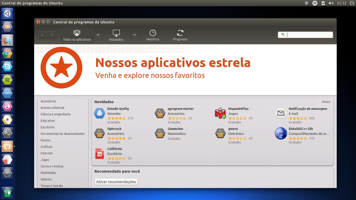 Instalando a antiga Central de Programas no Ubuntu 16 04 LTS [Dica]