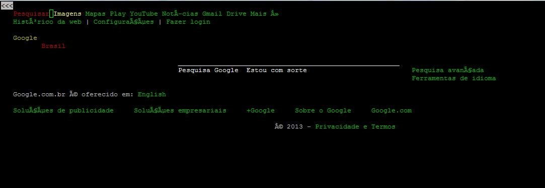 Lynx - Browser via terminal no GNU/Linux [Dica]