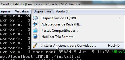 Instalando os Add-ons do VirtualBox no CentOS [Dica]