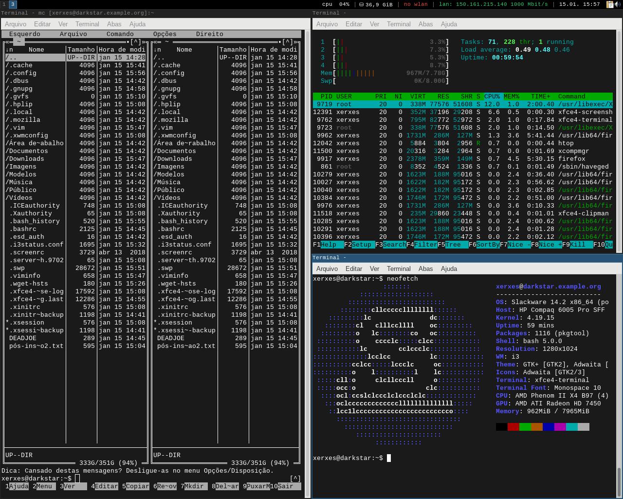 Slackware + i3-gaps + alienbob [Dica]