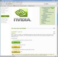 Linux: Nvidia FX 5500 no OpenSuse 11.1