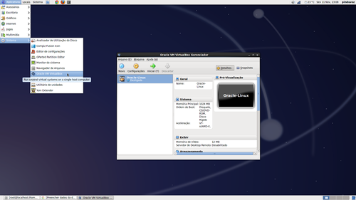 Linux: VirtualBox nos clones do RHEL (CentOS e Scientific Linux)
