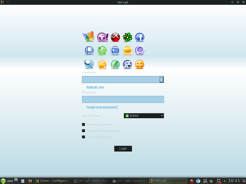 Linux: MO-Call no openSUSE 13.2
