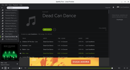 Linux: Spotify no openSUSE