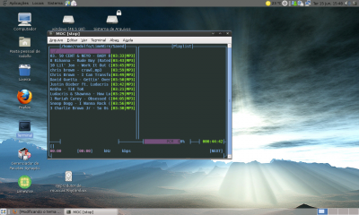 Linux: Modificando o tema do MOC ( Music On Console)