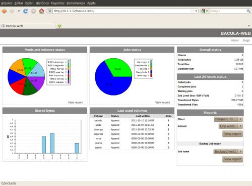 Linux:<br /><br /><br /><br /><br /><br /><br /> Instalando o Bacula-web no CentOS 5.X