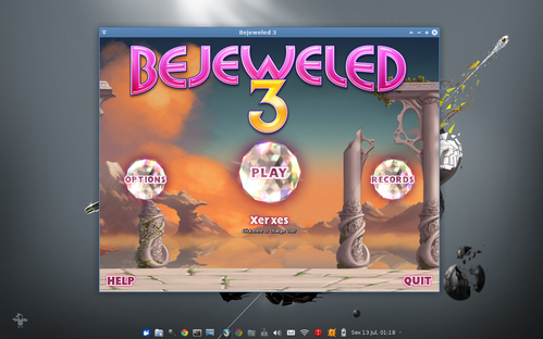 Linux: Jogue Bejeweled 3 no Xubuntu 12.04