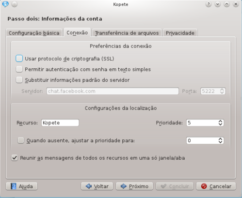 Linux: Chat do Facebook com o Kopete sem problemas