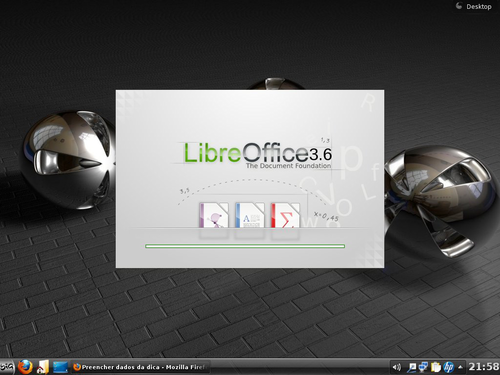 Linux: Mudando splash screen do LibreOffice