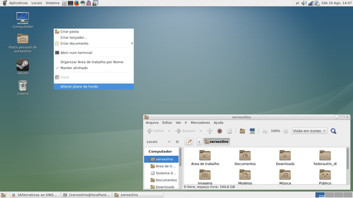 Linux: Alternativas ao GNOME Shell no Fedora 19