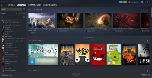 Linux: Steam no Gentoo (sem flatpak)