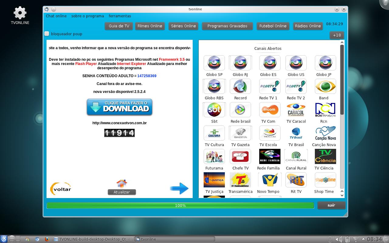 Assistir tv online pelo linux dica baixando o programa stopboris Images