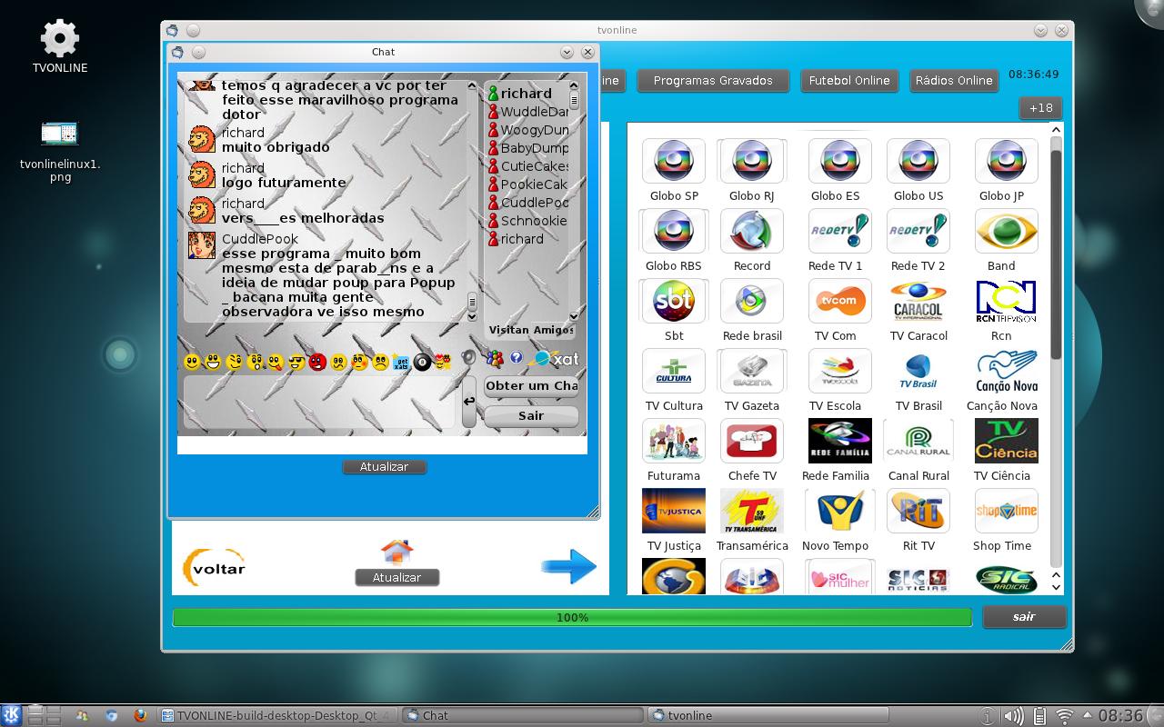 Assistir tv online pelo linux dica foi testado no ubuntu mas roda tambm em outros sistemas gnulinux stopboris Images