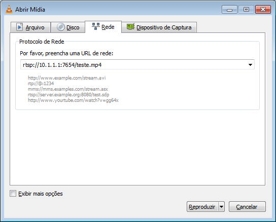 Instalando e configurando streaming de arquivo MP4 no FFmpeg
